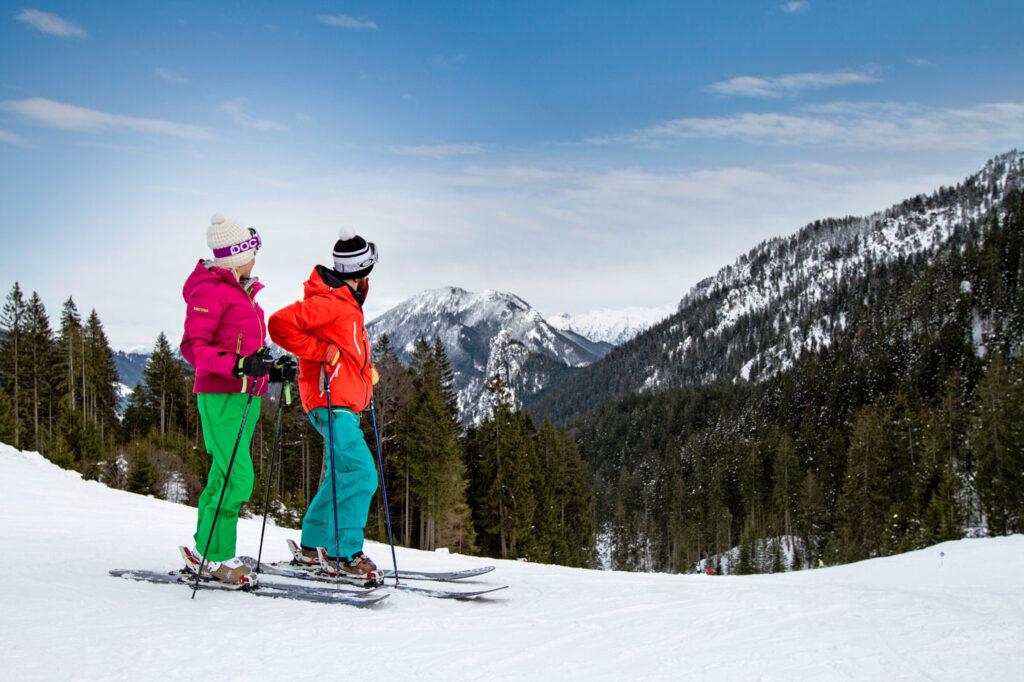 Wintersport in Naturpark Ammergauer Alpen