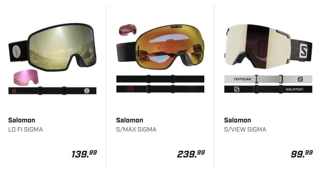 skibrillen Salomon DAKA