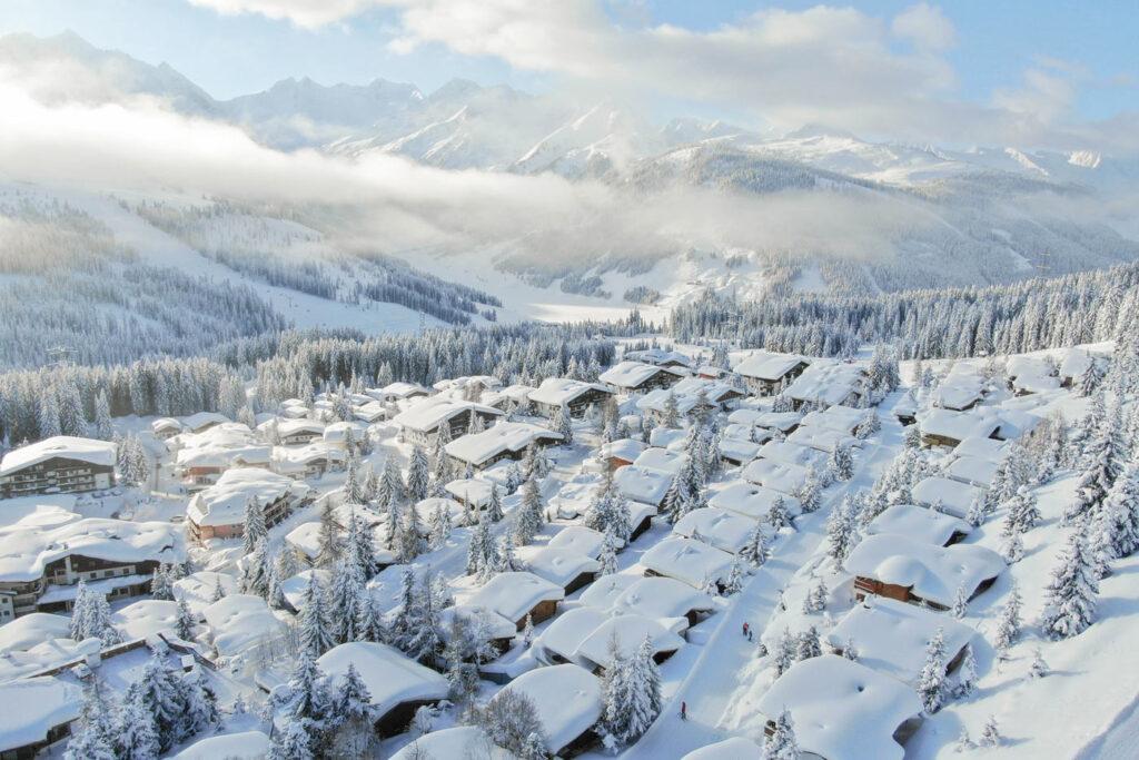 Wintersport in Königsleiten