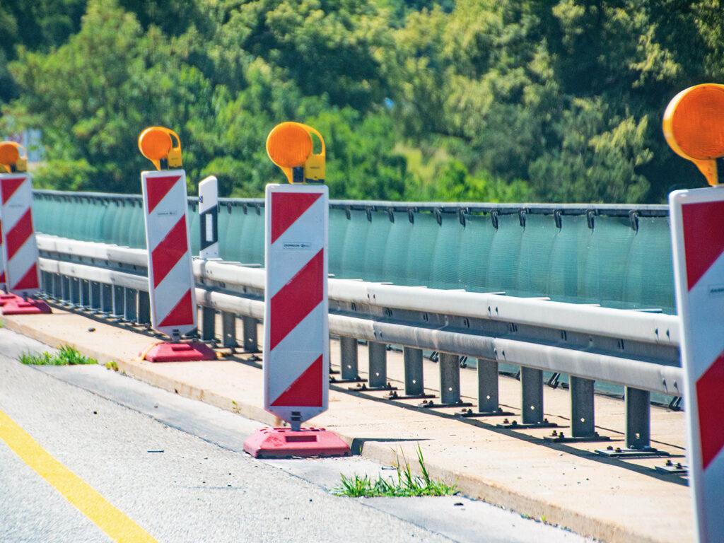 wegwerkzaamheden autobahn Duitsland