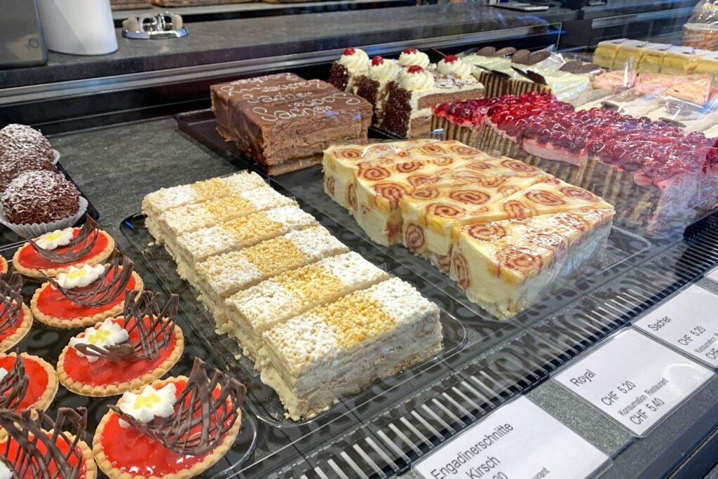 taartjes gebak Zwitserland