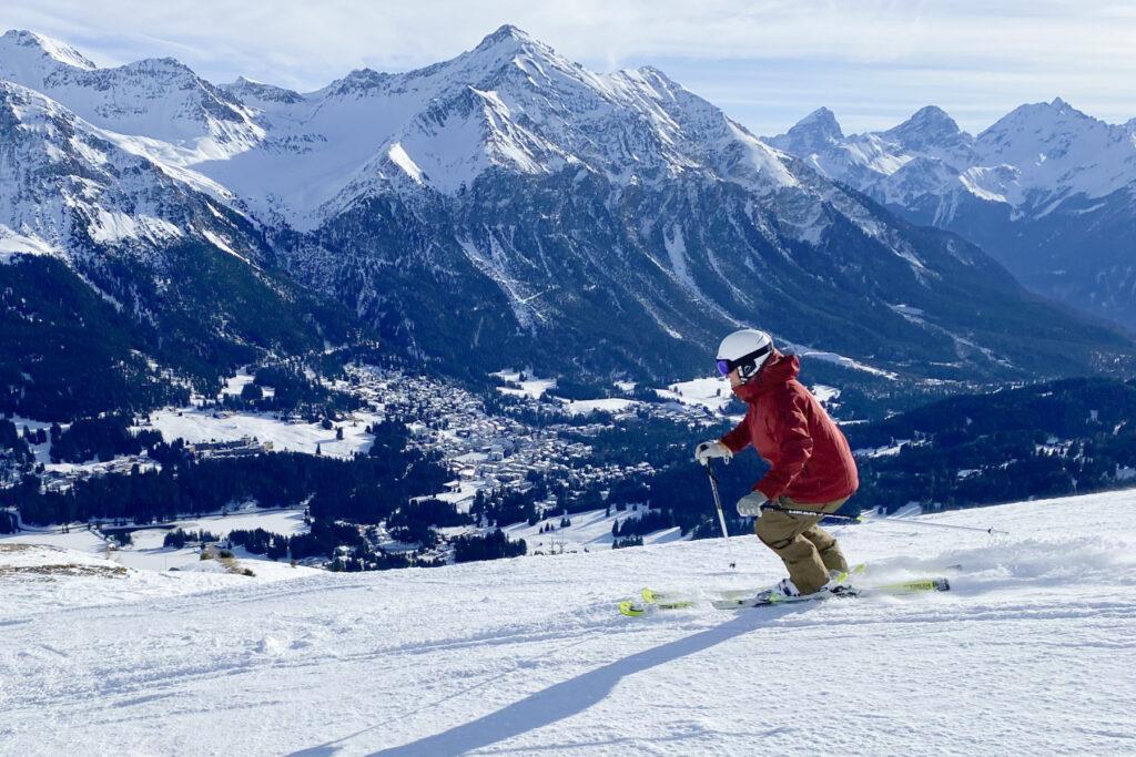 Skiën in Lenzerheide