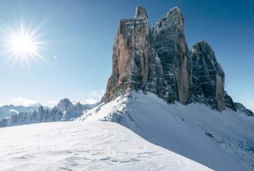 Wintersport 3 Zinnen Dolomites skigebied