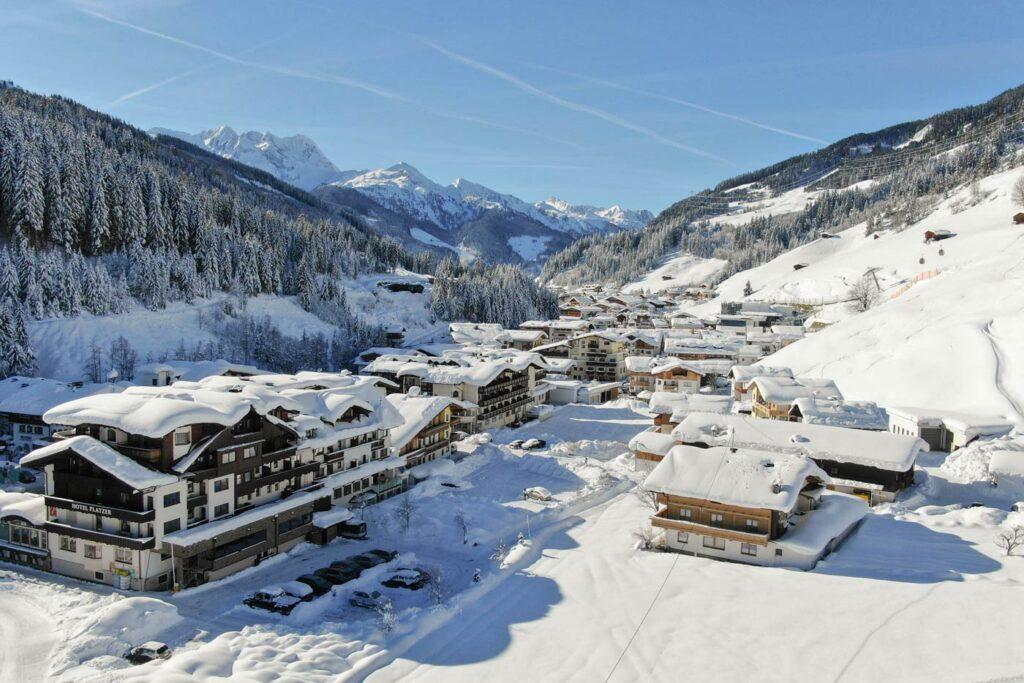 Gerlos in Tirol in Oostenrijk