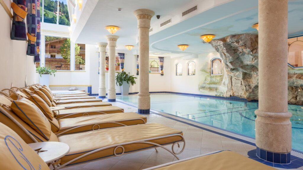 Zwembad Hotel Platzer in Gerlos