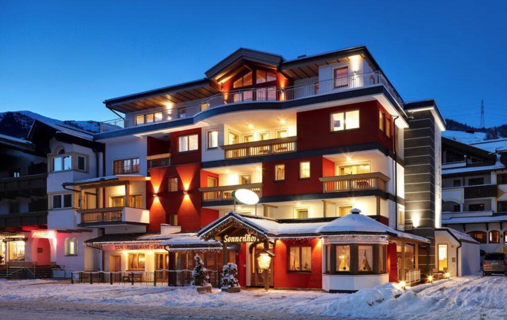 Hotel Sonnenhof Gerlos 3-sterren hotel aan de piste