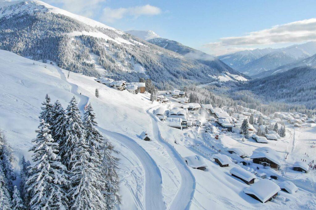 Hotels aan de piste in Oostenrijk