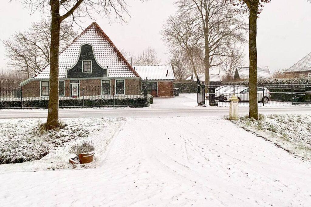 Sneeuw Nederland