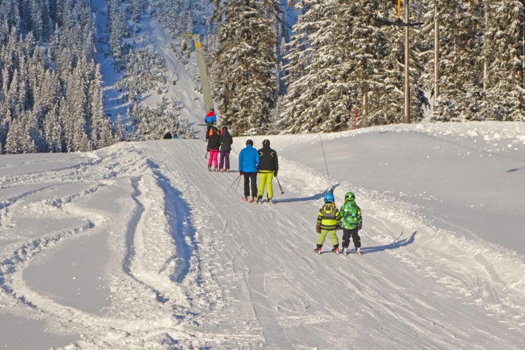 Skigebied voor wintersport met kinderen Tiroler Zugspitz Arena