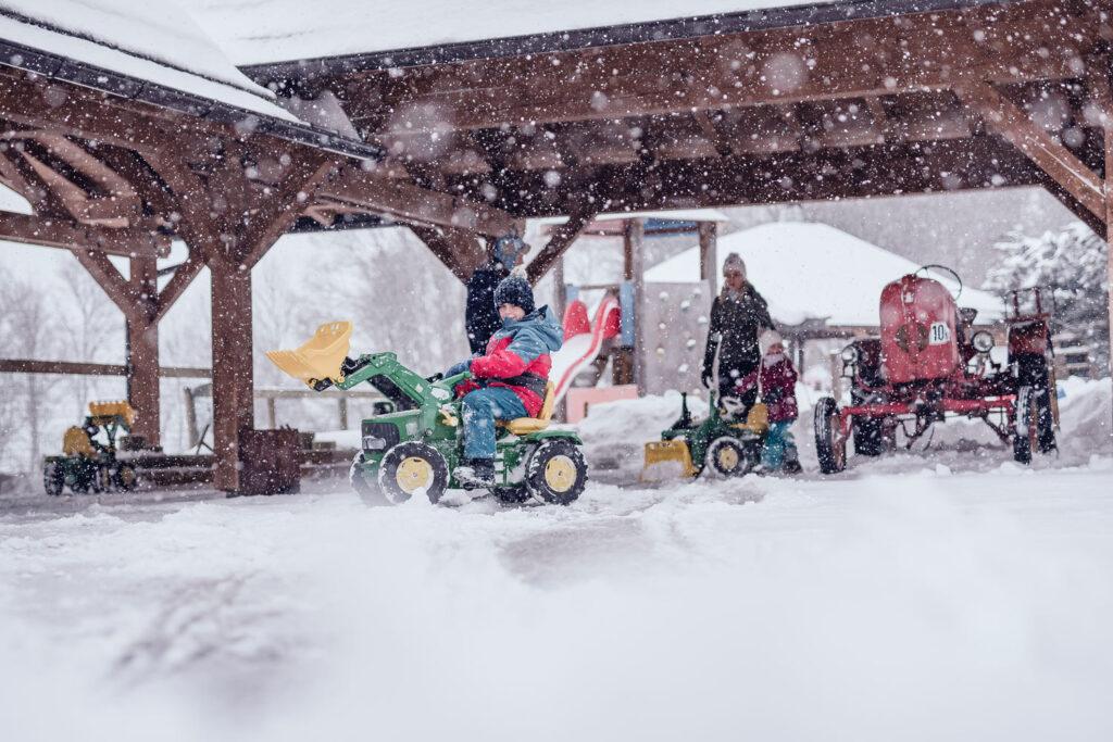 Wintersport met het gezin in familiehotels in Oostenrijk bij Familienresort Ellmauhof
