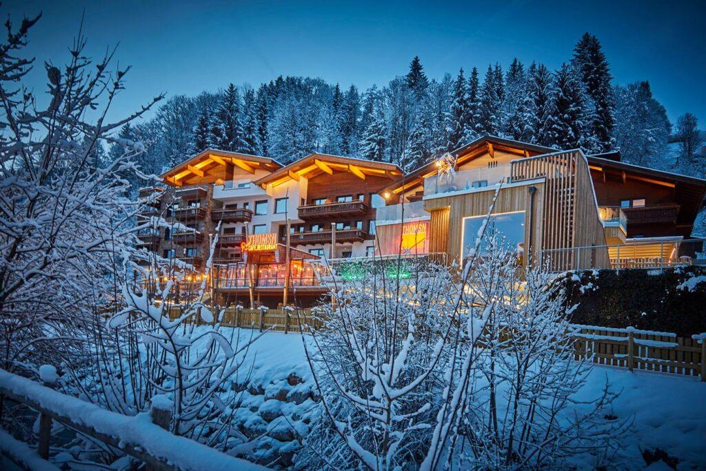 4-sterren hotels in Oostenrijk THOMSN-Alpine Rock Hotel in Hinterglemm