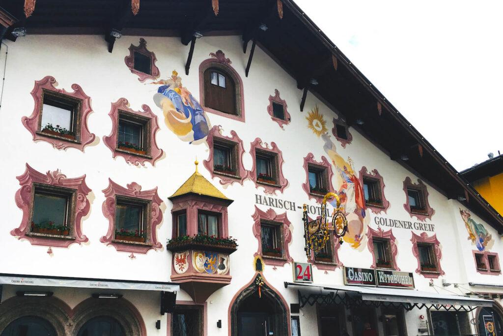 Hotel Goldener Greif in het centrum van Kitzbühel