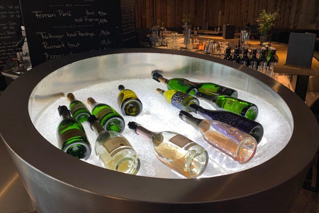 Luxe 5-sterren hotels bar op wintersport