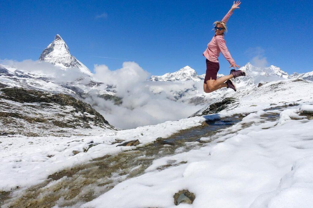 Zomerskiën in Zermatt
