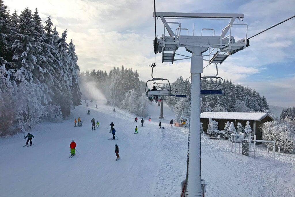 Wintersport in Winterberg met de bus