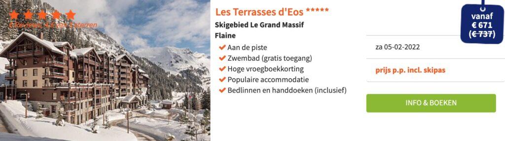 deals wintersport februari 2022 in Le Grand Massif