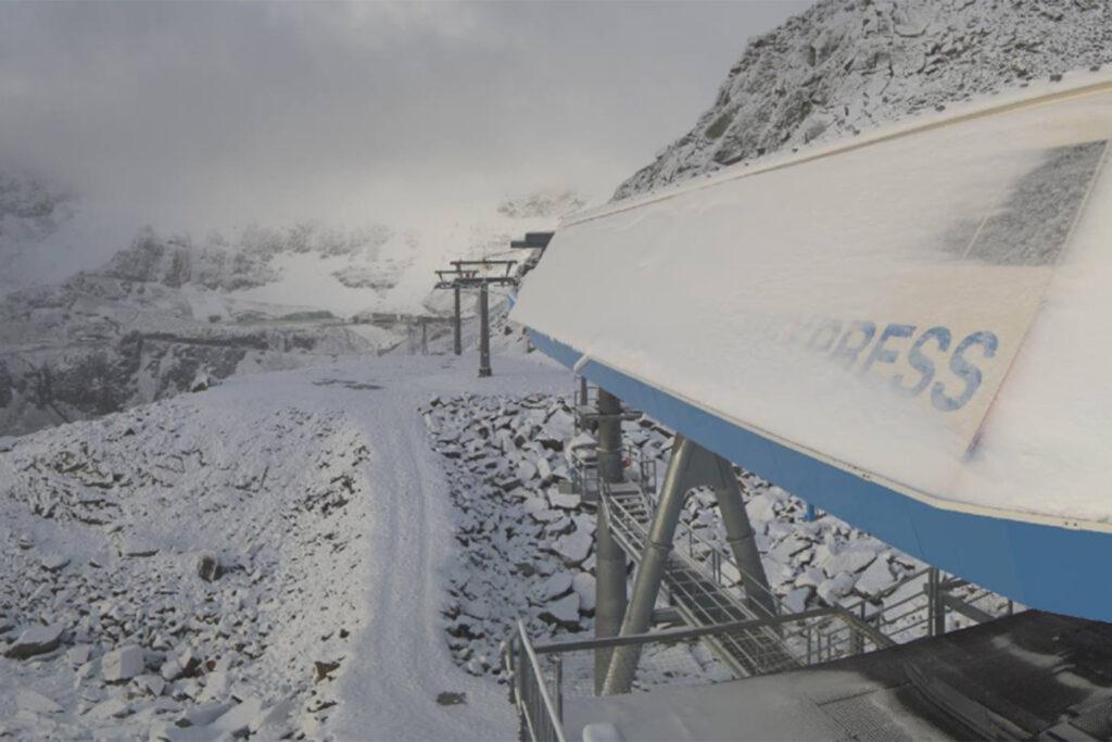 Webcam Gletscherexpress Sölden