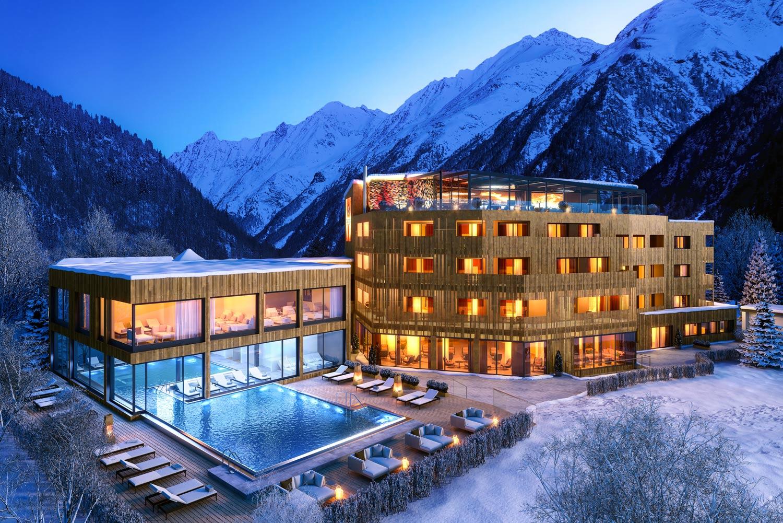 THE SECRET Sölden luxe hotel met zwembad