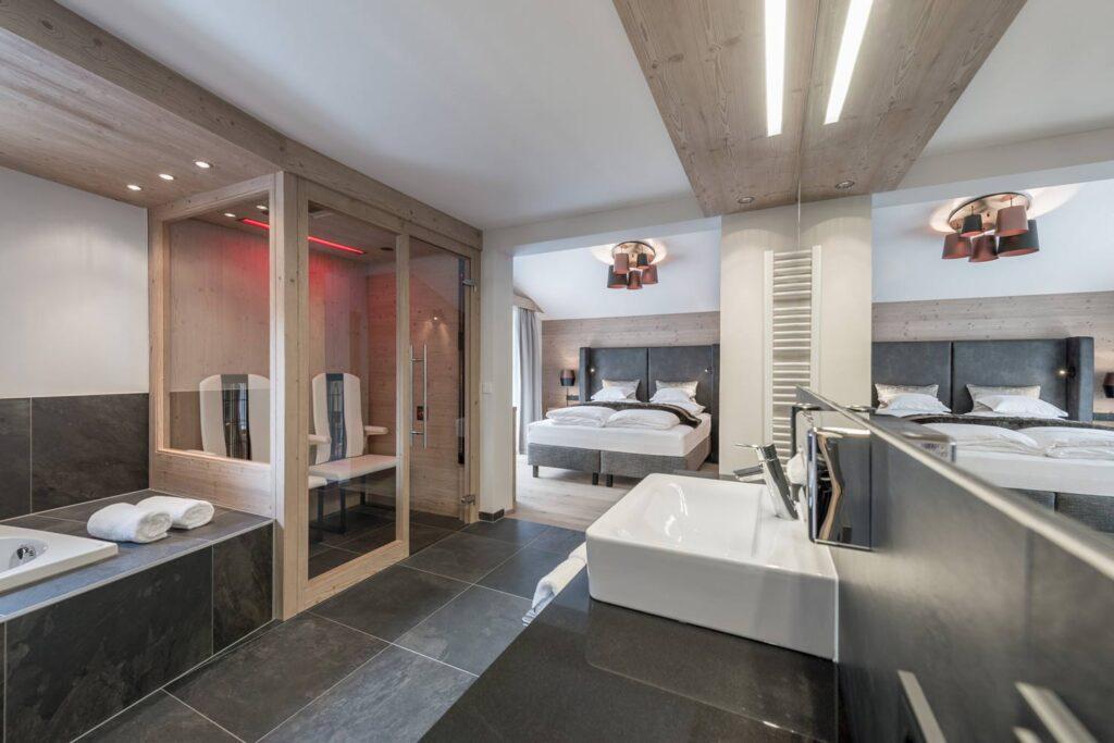Luxe hotelkamer in Sölden