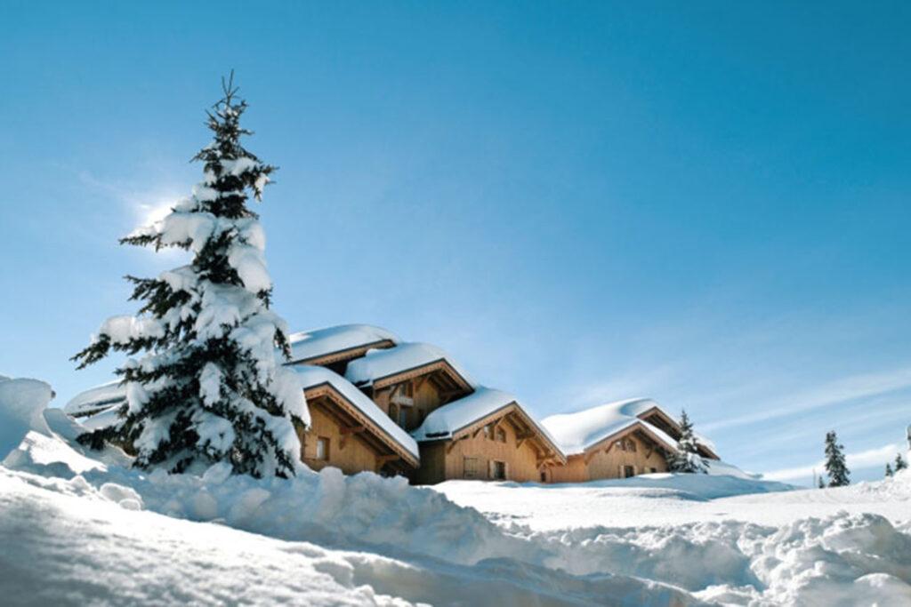 Aanbieding Residence Le Hameau du Beaufortain in Les Saisies Chalet.nl voorjaarsvakantie wintersport